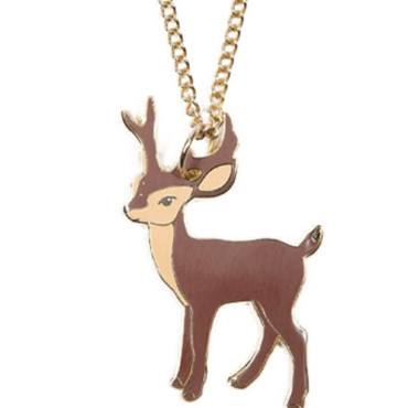 Pendentif faon Urban Outfitters