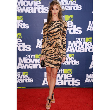 Rosie Huntington MTV Movie Awards 2011