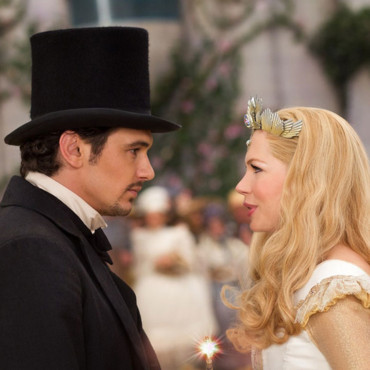 "James Franco et Michelle Williams dans ""Le Monde fantastique d'Oz"""