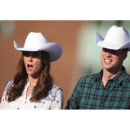 Grimaces de stars : La Princesse Catherine et le Princes William en cow-boy au BMO Center