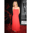 Uma Thurman en robe rouge