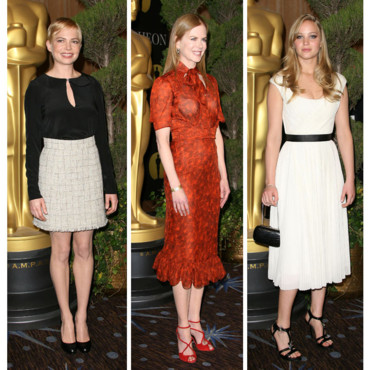 Michelle Williams-Nicole Kidman-Jennifer Lawrence