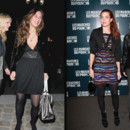 Tatiana Santo Domingo et Charlotte Casiraghi by night