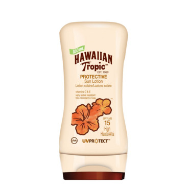 Solaires Hawaiian Tropic : lotion corps SPF15