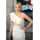 Michelle Williams en robe blanche Lanvin