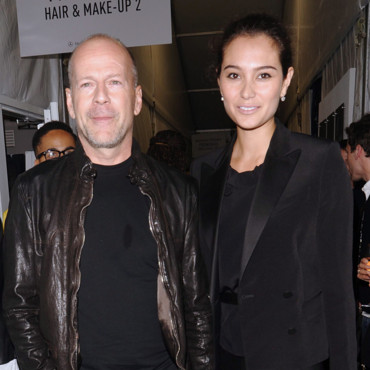 Bruce Willis et Emma Heming en septembre 2009 à New York