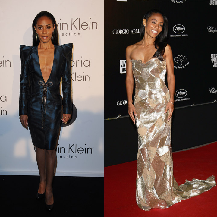Cannes 2012 Jada Pinkett Smith glitter