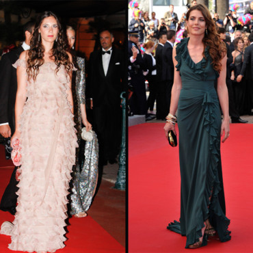 Tatiana Santo Domingo et Charlotte Casiraghi en mode red carpet