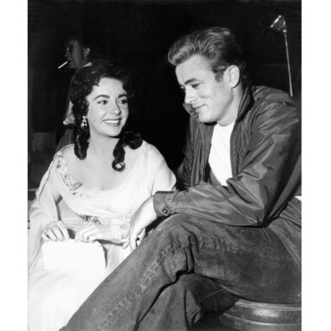 Elizabteh Taylor James Dean