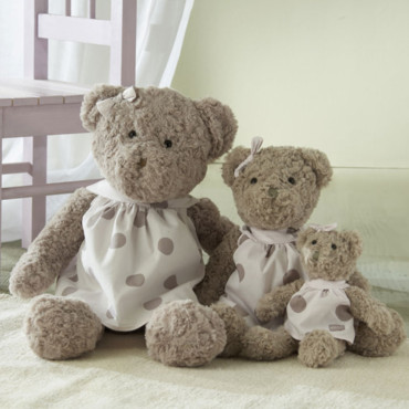 Les peluches Absorba