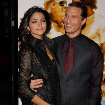 Matthew McConaughey couple