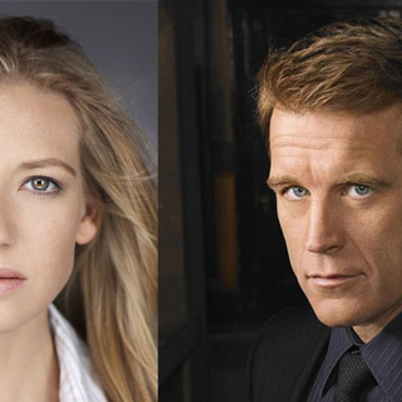 Anna Torv et Mark Valley