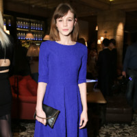 Carey Mulligan à Gstaad le 13 décembre 2014