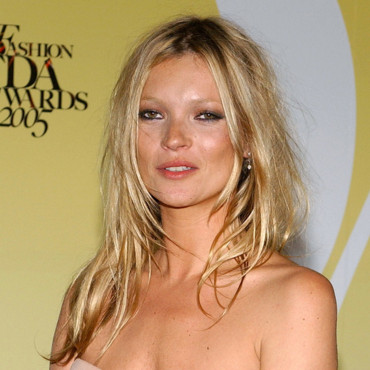 Le top Kate Moss à New-York pour les CFDA Fashion Awards