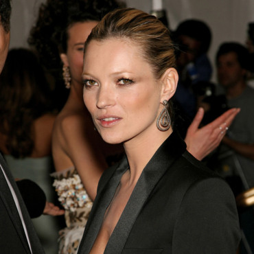 Kate Moss au Metropolitan Museum of Arts à New York en 2006