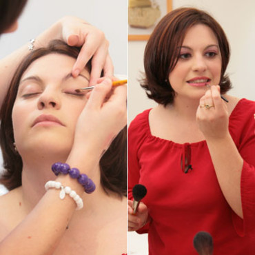 Mode : le relooking de Francesca, maquillage