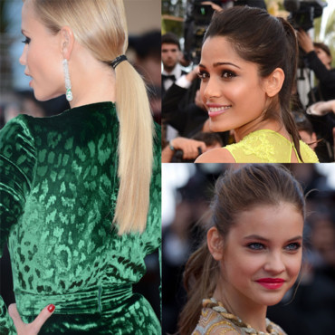 Les stars en queue de cheval au festival de Cannes 2012