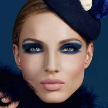Maquillage automne hiver : Make up for ever Smoky Eyes Look_Deep_Blue