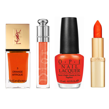 Tendance beauté Maquillage Orange