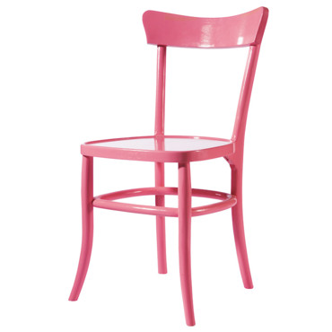 Excellent chaise de bistrot rose maisons du monde with for Housse de chaise maison du monde