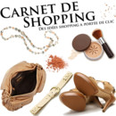 Logo carnet de shopping