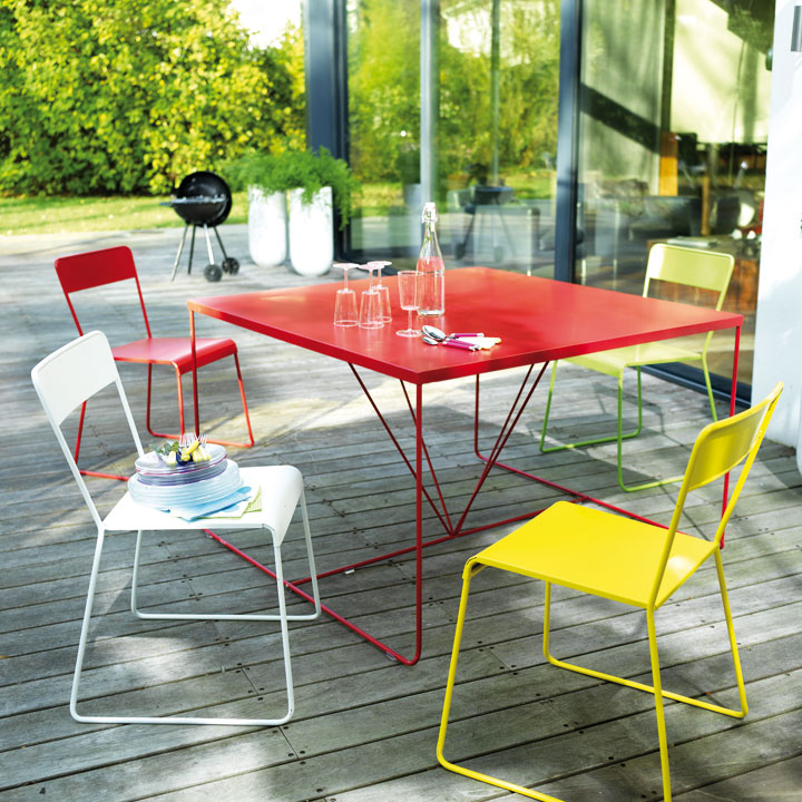 Table rabattable cuisine paris tables jardin castorama - Table fermob castorama ...