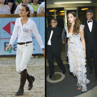 Tatiana Santo Domingo glamour hollywoodien vs Charlotte Casiraghi glamour équestre