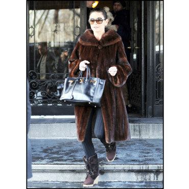 Mode hiver Catherine Zeta-Jones