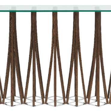 Console Roche Bobois Console Dukmi Collection Mangrove