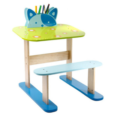rentr e 2009 les 20 bureaux pour enfants le bureau chat la redoute d co. Black Bedroom Furniture Sets. Home Design Ideas