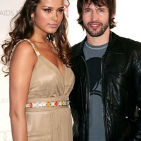 Photo : James Blunt et Petra Nemcova