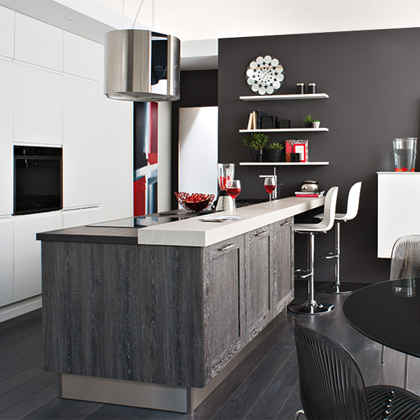 cuisinella 2013 13 cuisines qui donnent vraiment envie cuisine cuisinella mod le wooden. Black Bedroom Furniture Sets. Home Design Ideas