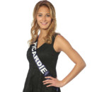 Miss Picardie à l'élection de Miss France 2014