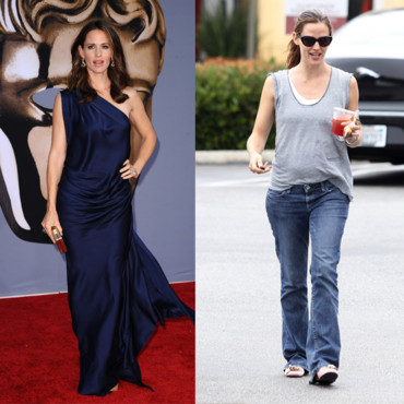 1 star 2 looks Jennifer Garner