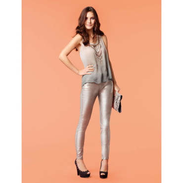 Le pantalon lamé New Look