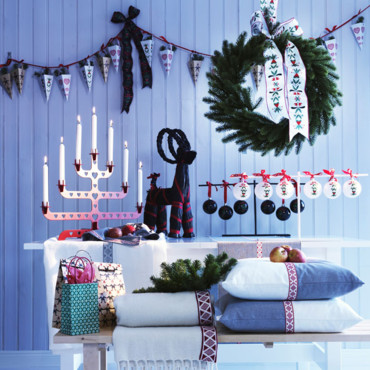Noël tradition à la mode scandinave chez Ikea