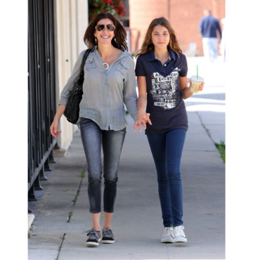 Teri Hatcher et sa fille Starbucks