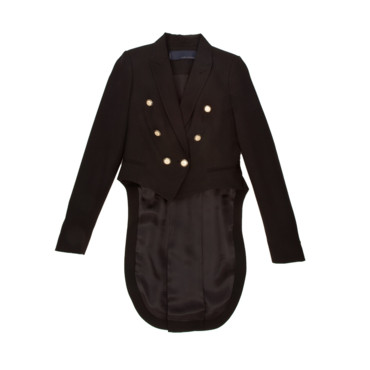 Zara Veste queue de pie noire 129,95€