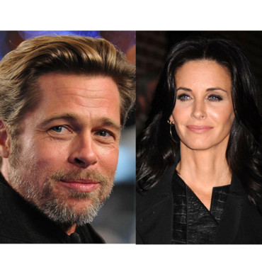 Brad Pitt Courteney-Cox