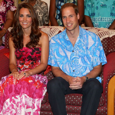 Kate Middleton et le prince William dans les Iles Salomon