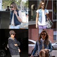 Jessica Alba, Miranda Kerr... Les stars craquent toutes pour la veste en jean