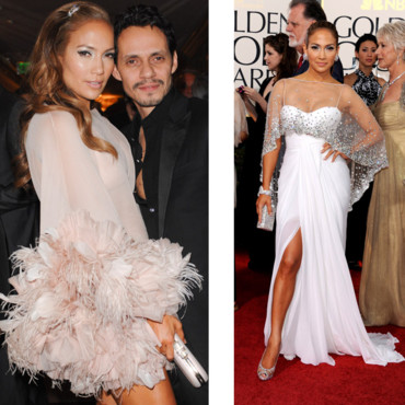 Jennifer Lopez aux Golden Globes 2011