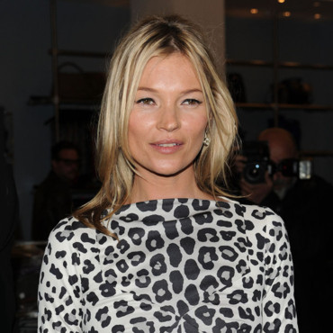 Kate Moss à la boutique Marc Jacobs en 2012