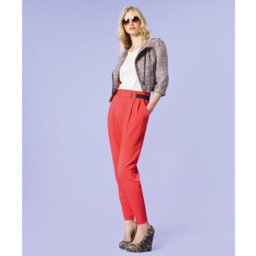 La pantalon carotte New Look