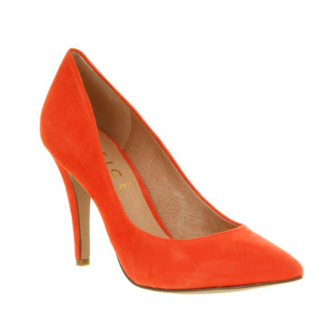 Escarpins oranges Office 79 euros