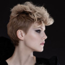 Coiffures automne-hiver : coupe courte rock Intercoiffure