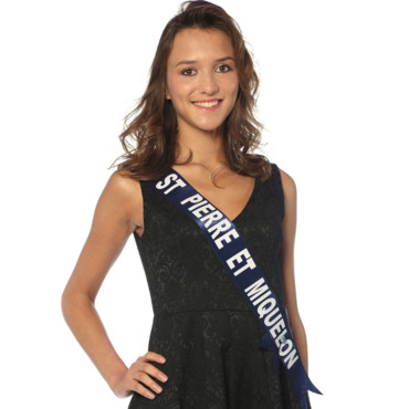 Miss St-Pierre-et-Miquelon à l'élection de Miss France 2014