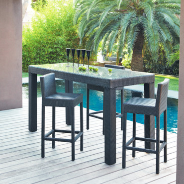 12 salons de jardin pour un ap ritif chic et outdoor salon de jardin maisons du monde d co. Black Bedroom Furniture Sets. Home Design Ideas
