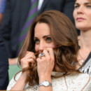 Kate Middleton à Wimbledon pour encourager Andy Murray le 2 juillet 2014 à Londres