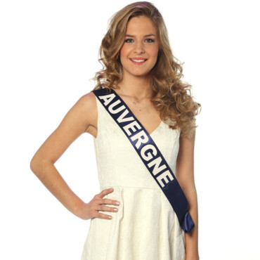 Miss Auvergne à l'élection de Miss France 2014